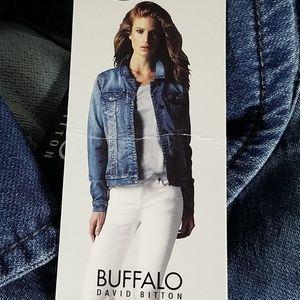 NWT! Womens Buffalo David Bitton Jean Jacket XL